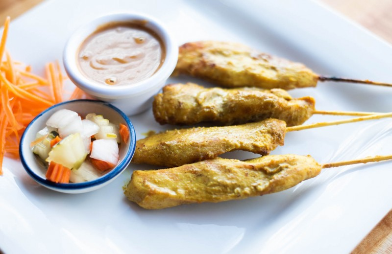 Chicken Satay (4 Pieces) rounded-0