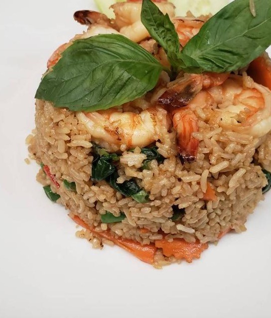 (N6) BASIL FRIED RICE***