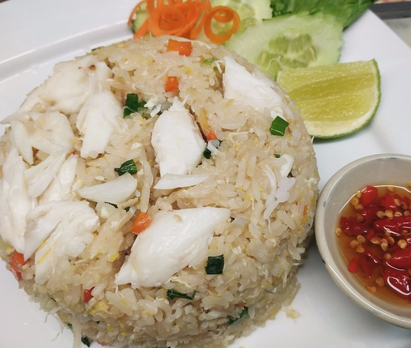 CRAB FRIED RICE **New**