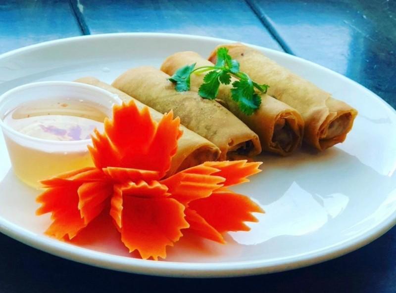 Vegetarian Spring rolls, 3 pcs